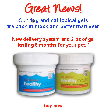 Introducing VOHC Accepted dog and cat gells