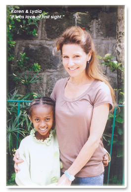 Lydia and Karen. AHOPE for Children