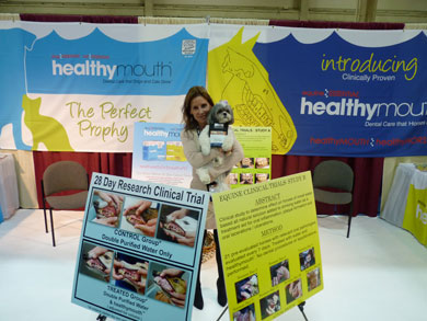 HealhtyMouth expo booth