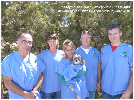 Morning Equine Clinical Trial Team